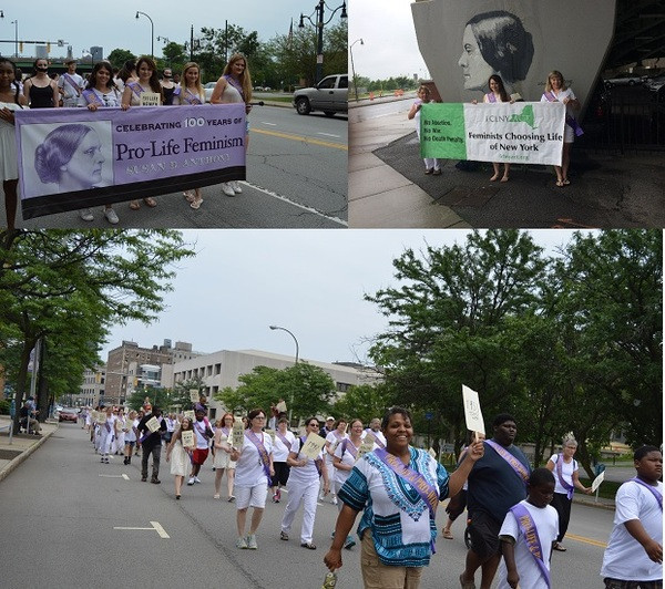 NY State Suffrage Centennial parade