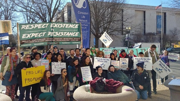 2018 March for Life meetup group photo