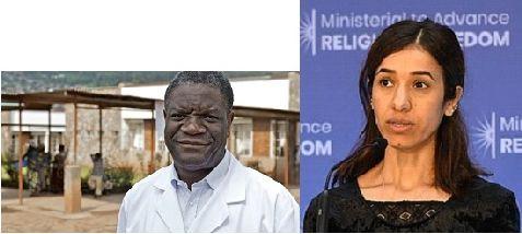 Denis Mukwege & Nadia Murad