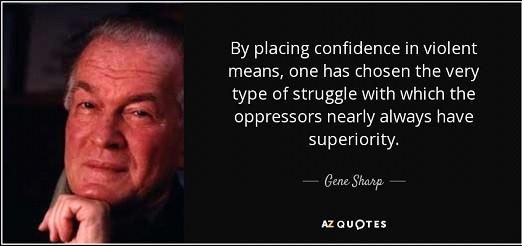 Gene Sharp quote