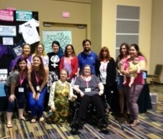 CLE attenders at Pro-life Women's Conf.