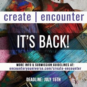 Rehumanize Int'l create \ encounter contest graphic