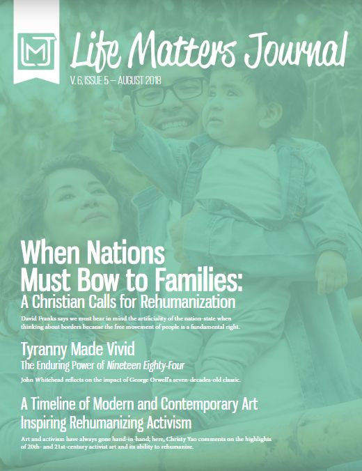 Cover of August Life Matters Journal