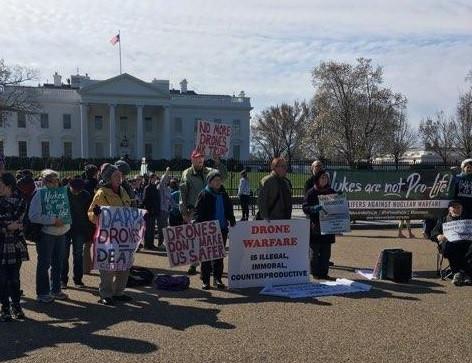 March 10 DC anti-nuke, anti-drones vigil