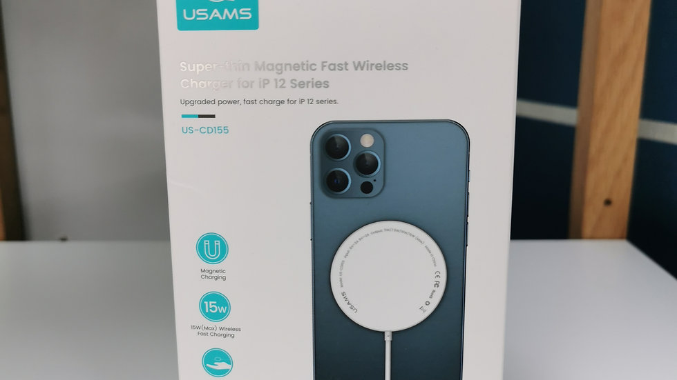 USAMS Magnetic Fast Wireless Charger iP12 series