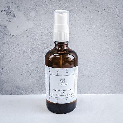 Bloom Remedies Hand Sanitiser with Lavender, Lemon & Thyme