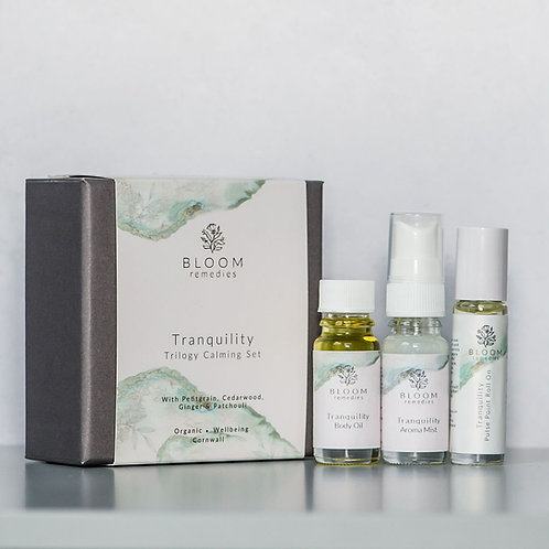 Bloom Remedies Tranquility Calming trilogy Set