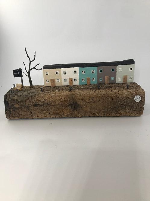 """""""Harbourside"""". Driftwood Art"""