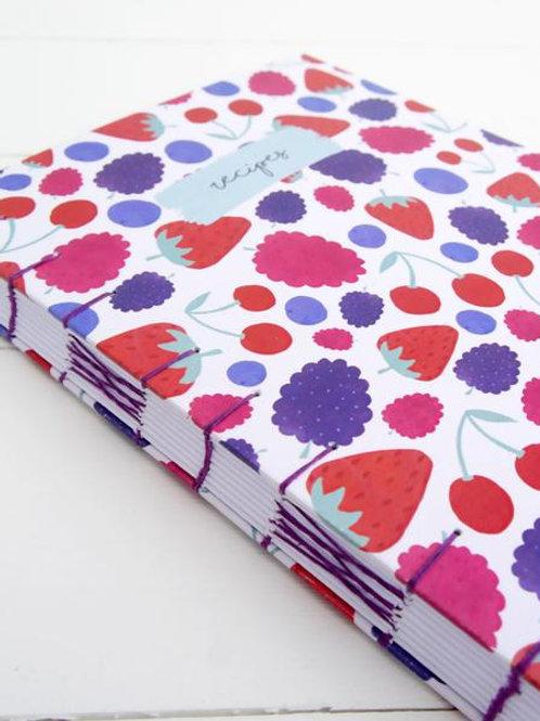 The Sunshine Bindery Hand Bound Personal Recipe Journal