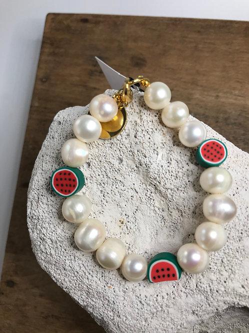 Pearl Fruit Bracelet