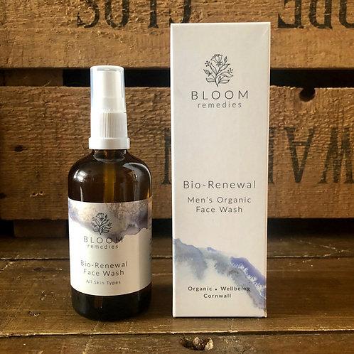 Bloom Remedies Bio Renewal Men's Organic Face Wash