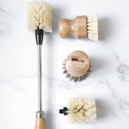 WAKEcup Bamboo Brush Bundle