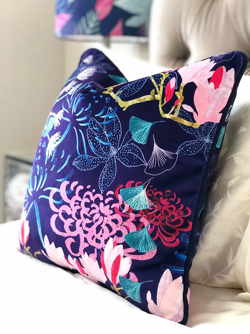 Amanda West Shimmer Velvet Cushion
