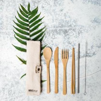 WAKEcup Zero waste Cutlery Set