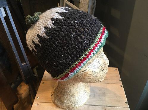 Handmade Crochet Christmas Pudding Hat 2-6 years