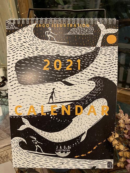 Jago Illustration 2021 Calendar