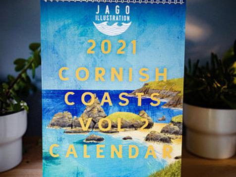 Cornish Coast Vol 2 Calendar
