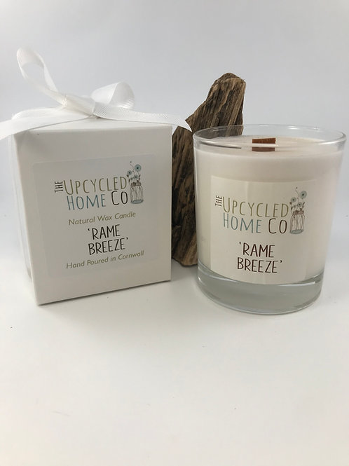 Hand Poured Rame Breeze Candle/Diffuser