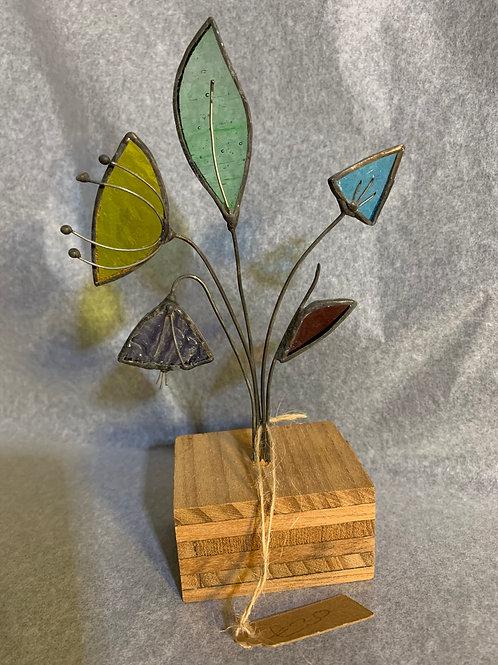 Handmade Cornish Glass Flowers