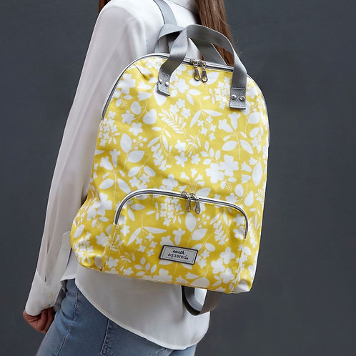 Earth Squared Oil Cloth Backpack