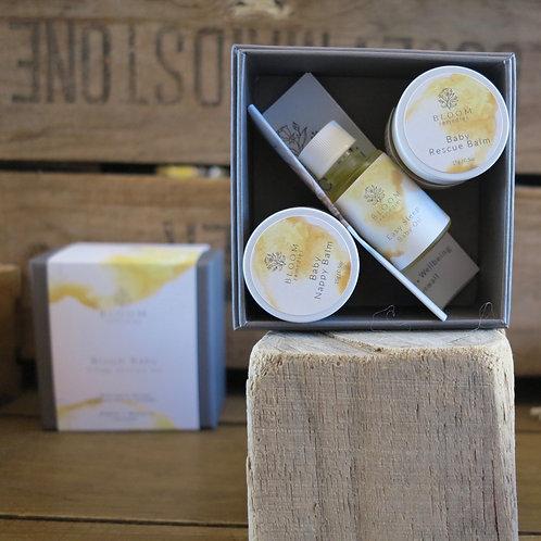 Bloom Remedies Baby Trilogy Skincare Set