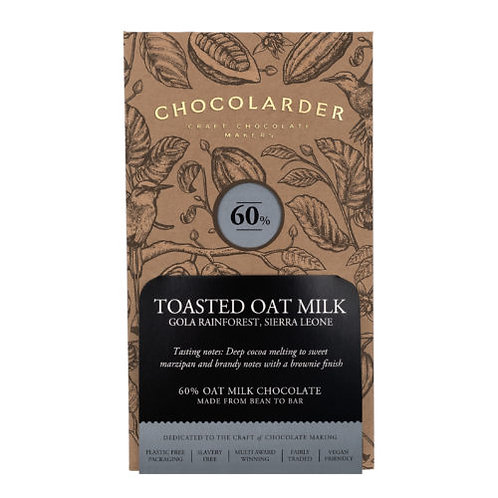 Chocolarder Toasted Oatmeal Milk Chocolate
