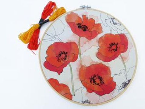 Rebeca Spikings Floral Hoop Large