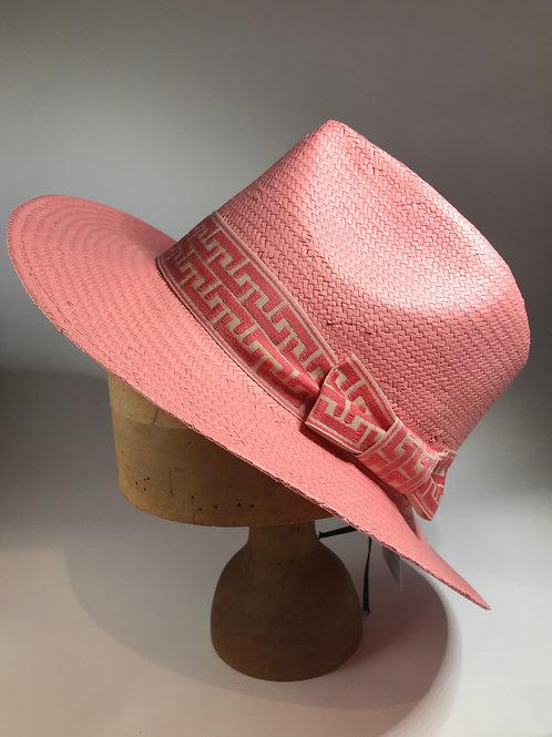 Unisex Pink Fedora Hat