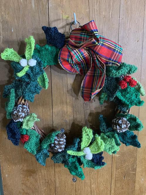 Creatwinity HandCrochet Christmas Wreath