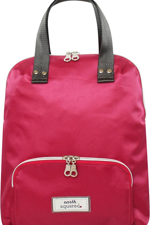 Voyage Mini Backpack.  Berry Red