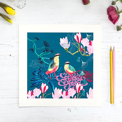 Fairy Pitta Songbird Print