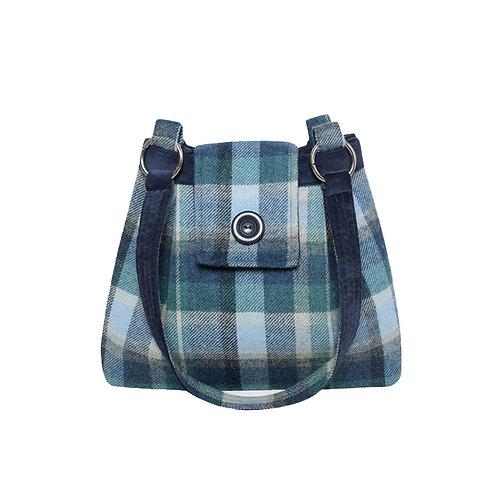 Earth Squared Tweed Ava Bag.