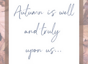 Autumntime is the perfect time.....