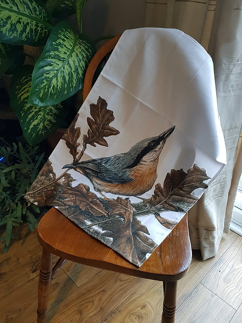 Natalie Toms Wildlife Tea Towel