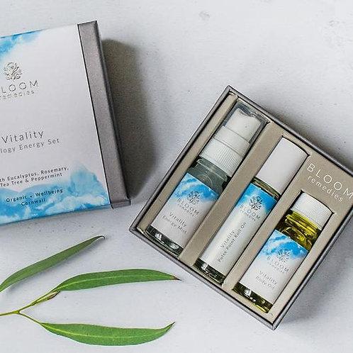 Bloom Remedies Vitality Trilogy Energising Set