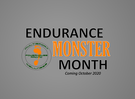 This Week at Powerhouse Racing - October is Endurance MONSTER Month!
