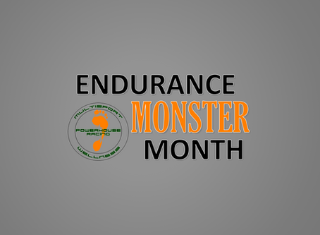This Week at Powerhouse Racing: Endurance Monster Run This Sunday !