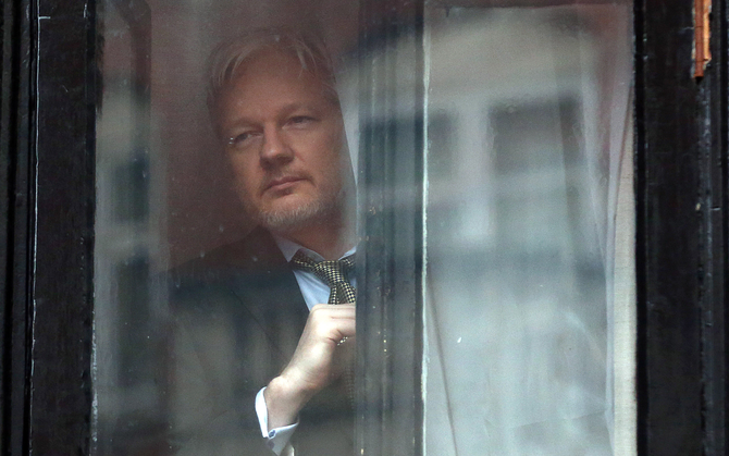 Assange's fate hangs in the balance as Ecuadorian election looms