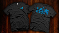 Burgers and Blues T Shirt