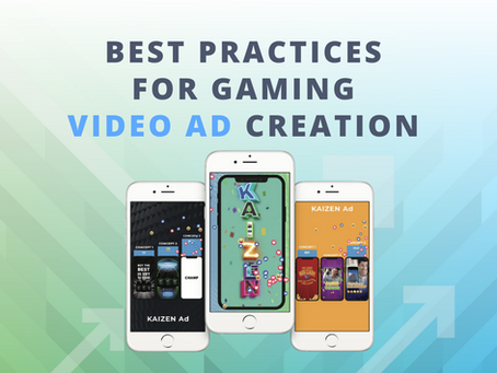 Is Your Gaming Video Ad Creative PLAYing to Win?