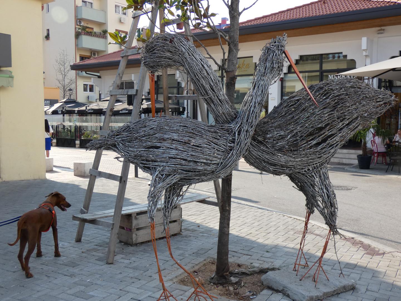 Moderne Kunst in Tirana