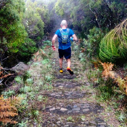 Great great fun run today at Encumeada's tunnels and waterfalls.
