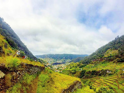 From Boca do Risco we get to explore this green valley until we reach Machico__RUNNiNG TOURS _ MADEi