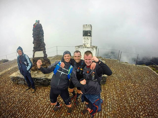 💢 Conquering the Summit just after a major warm up across Caldeirao Verde Levada and Ilha's Trail c