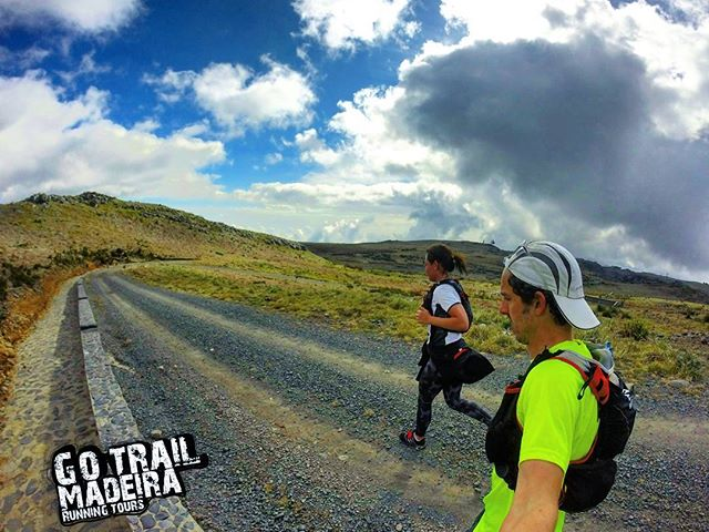 Trying to keep up with Jenny at Eco Forrest _P__RUNNiNG TOURS _ MADEiRA ISLAND__WWW.GOTRAILMADEIRA