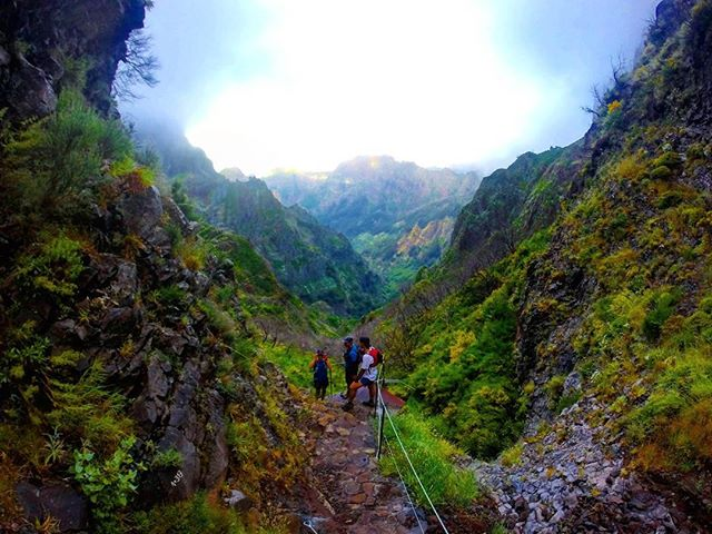 One of the many green valleys somewhere along our way to conquering the summit__RUNNiNG TOURS _ MADE
