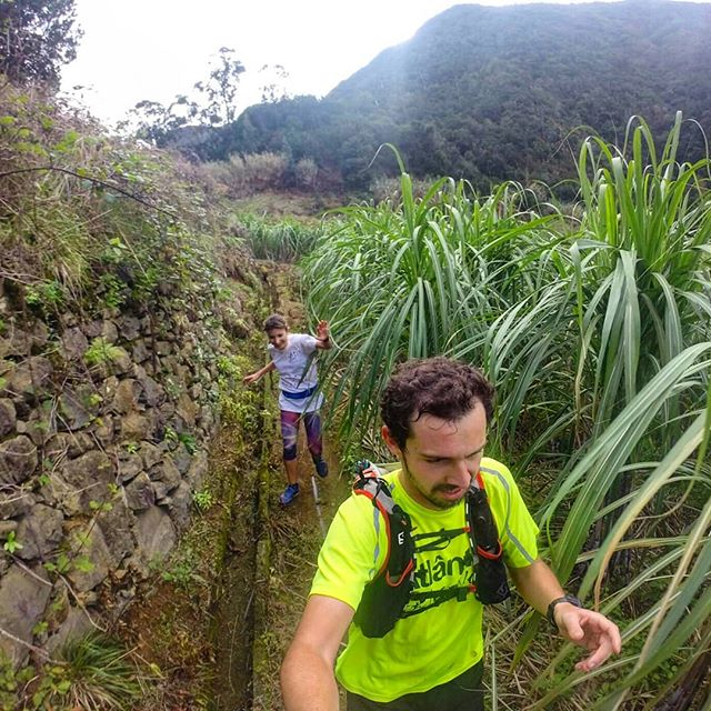 Northeast mountain cliffs day with Inês!! Back to one of our favourite trails__RUNNiNG TOURS _ MADEi