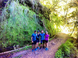 The proper background for a family photo ... And then some running__RUNNiNG TOURS _ MADEiRA ISLAND__