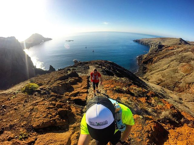 How about this picture to sum up today's run at São Lourenços Playground__RUNNiNG TOURS _ MADEiRA IS