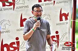 Mauro presenta le gare di Equitazione F.I.S.E.
